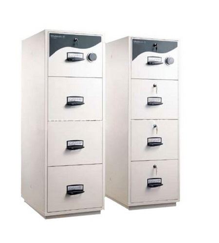 CHUBB 4 Drawer Fire Resistant Cabinet; 5204 – Office Equipment ...