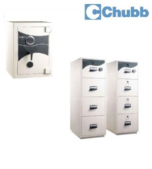 CHUBB Safe & Fire Resistant Cabinet