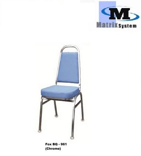 FOX Banquet Chair; BQ-961 (Chrome)  sc 1 st  Office Equipment u0026 Supplies Malaysia | Paper Shredder | Binding Machine & FOX Banquet Chair; BQ-961 (Chrome) u2013 Office Equipment u0026 Supplies ...