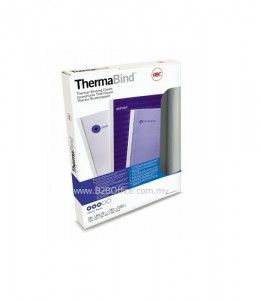 GBC Thermal Cover; 6.0mm (White)