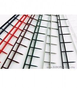 GBC Velobind Strip; 1 inch (Black)