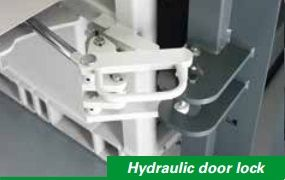 Hydraulic door lock