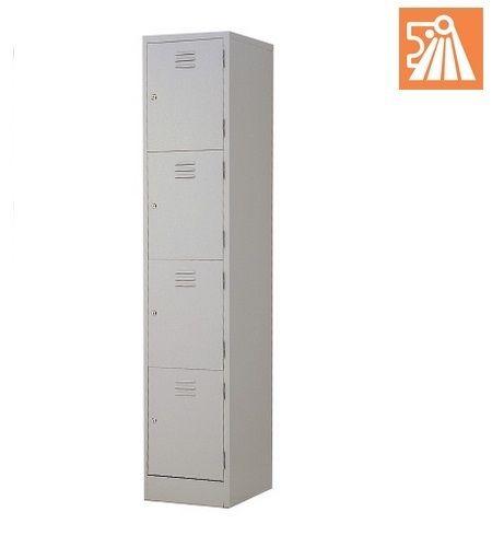4 Compartment Steel Locker L554b Office Equipment