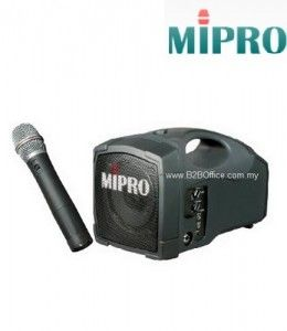 MIPRO Portable Public Amplifier; MA101