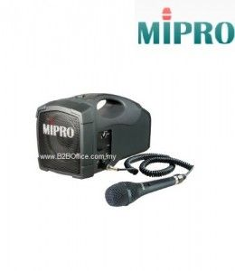 MIPRO Portable Public Amplifier; MA101C