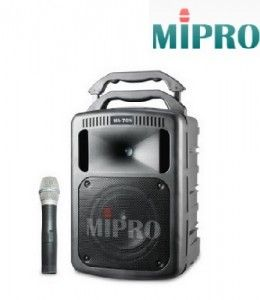 MIPRO Portable Public Amplifier; MA708
