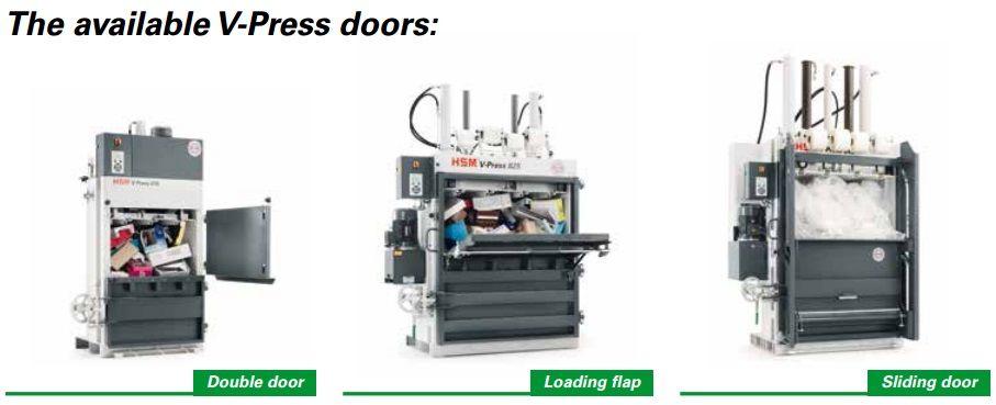 v press doors